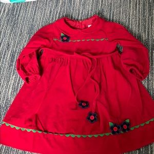 Florence Eiseman red dress size 3T.